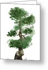 Little Zen Tree 144 Greeting Card