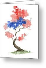 Little Zen Tree 291 Greeting Card
