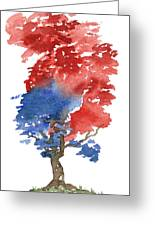 Little Zen Tree 292 Greeting Card