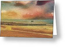 Littlehampton Beach Greeting Card