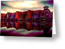Live And Reflect Greeting Card
