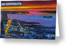 Live Eye Over Dartmouth Ns Greeting Card