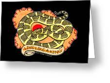 Live Like A Florida Kingsnake Greeting Card
