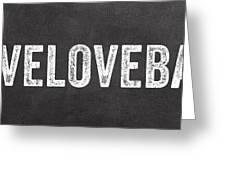 Live Love Bake Greeting Card
