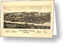 Livermore Falls Maine Greeting Card