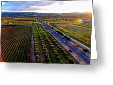 Livermore Wine Country--las Positas Winery Greeting Card