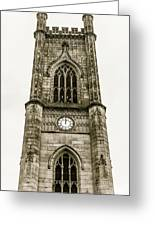 Liverpool Church Of St Luke - Tower B Greeting Card