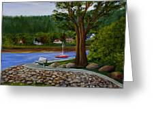 Living In Annapolis Royal Greeting Card