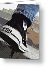 Living In Converse - Hurries In Converse Greeting Card
