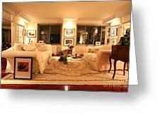 Living Room IIi Greeting Card