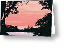Living Room View, Photograph Greeting Card