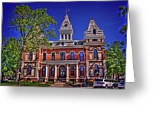 Livingston County Courthouse 1 Greeting Card