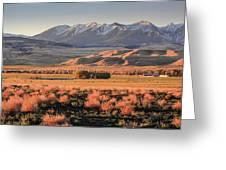 Livingston Montana Greeting Card