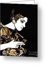 Liza Minelli Collection-1 Greeting Card