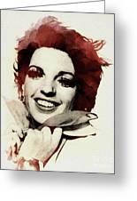Liza Minnelli Greeting Card