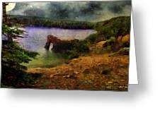 Lake Of Stars Greeting Card