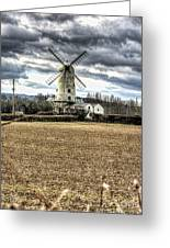 Llancayo Mill Usk 2 Greeting Card