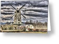 Llancayo Mill Usk 3 Greeting Card