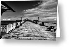 Llandudno Pier  Greeting Card