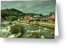 Llangollen Station  Greeting Card