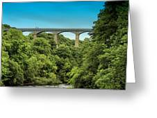 Llangollen Viaduct Greeting Card