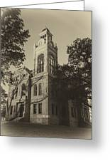 Llano County Courthouse - Vintage Greeting Card