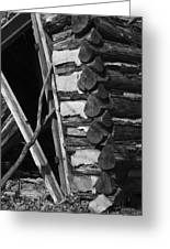 lloyd-shanks-barn-3BW Greeting Card