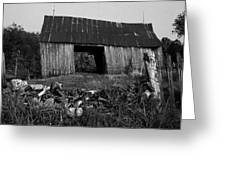 Lloyd-shanks-barn-4 Greeting Card