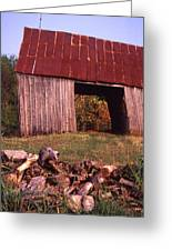 Lloyd Shanks Barn2 Greeting Card