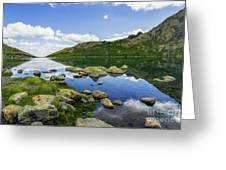 Llyn Lydaw Greeting Card
