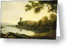 Llyn Peris And Dolbadarn Castle, North Wales Greeting Card