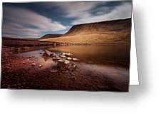 Llyn Y Fan Fach Black Mountain Greeting Card