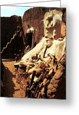 Lobi Altar 1999 Greeting Card