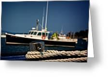 Lobster Boat I Greeting Card