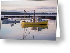 Lobster Boat Jonesport, Maine  Greeting Card
