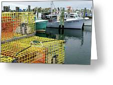 Lobster Traps In Galilee Greeting Card
