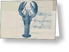 Lobster - J122129185-1211 Greeting Card