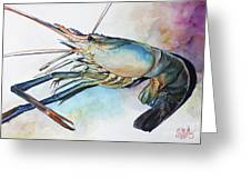 Lobster_001 Greeting Card