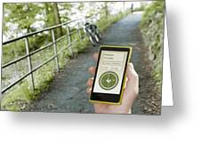 Location-based-apps-mobiloitte Greeting Card