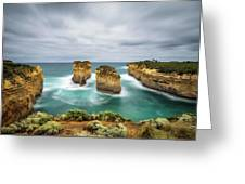 Loch Ard Gorge  In Victoria, Australia Greeting Card