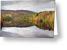 Loch Faskally Autumn Greeting Card