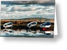 Loch Harray Dawn Iv Greeting Card
