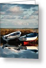 Loch Harray Dawn V Greeting Card