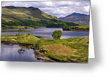 Loch Katrine And Ben Venue Greeting Card