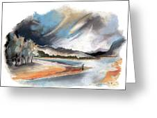 Loch Laggan 03 Greeting Card