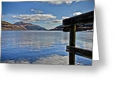 Loch Lomond And The Ben Greeting Card