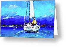 Loch Lomond Sail Greeting Card