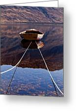 Loch Maree Boat Greeting Card