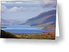 Loch Maree In The Highlands Of Scotland Greeting Card