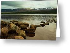 Loch Morlich And The Cairn Gorms Greeting Card